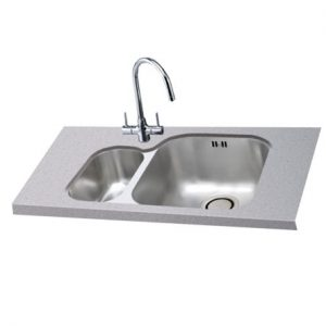 Lavella 150U Left Hand shown with Opus Tap