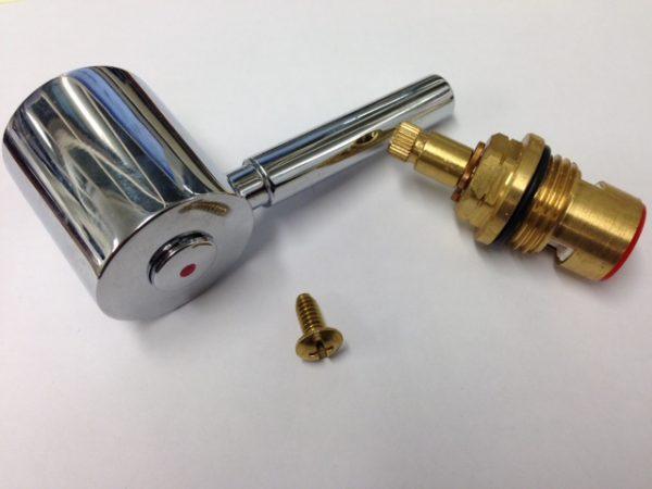 davenport handle valve and screw
