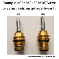 Example of 3656R SP3656 Old V New Valve