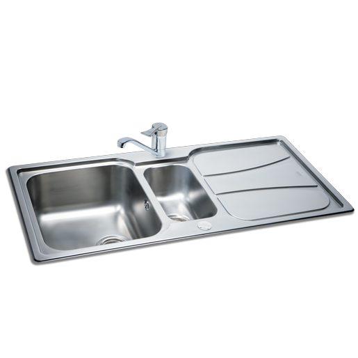 Carron Phoenix Zeta 150 Polished Sink