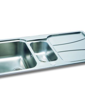 Carron Phoenix Zeta 150 Sink with Drainer