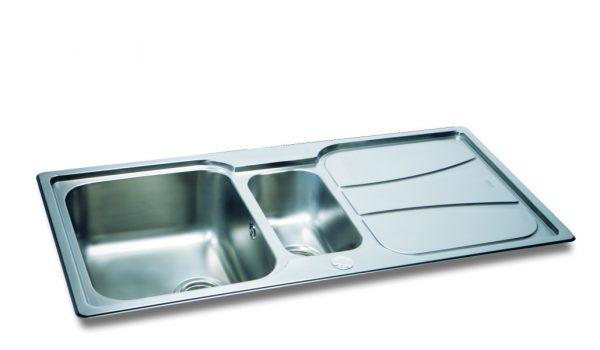 Carron Phoenix Zeta 150 Sink with Drainer
