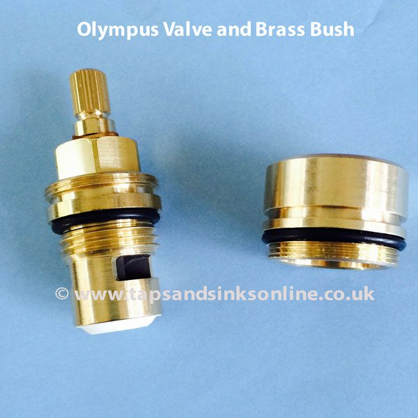 Franke Olympus Valve and Brass Bush (not attached)