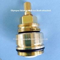 Franke Olympus Valve with Brass Bush attached