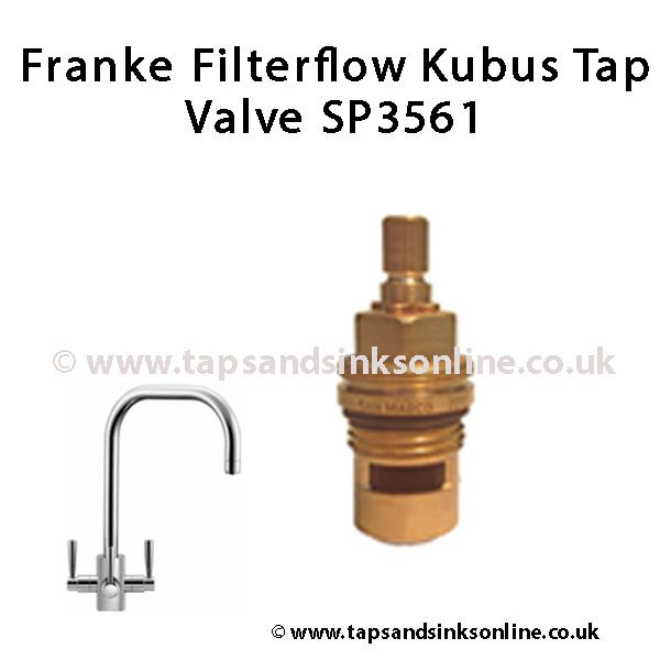 Franke Filterflow Kubus Tap Valve