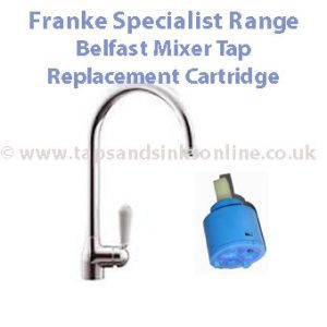 Franke Specialist Range Belfast Mixer Tap Replacement Cartridge