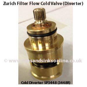 Franke Zurich Filterflow Cold Diverter Cartridge SP3448