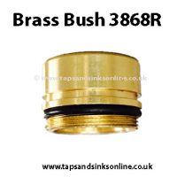 Brass Bush 3868R