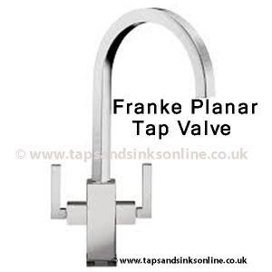 franke planar tap valve with no valve