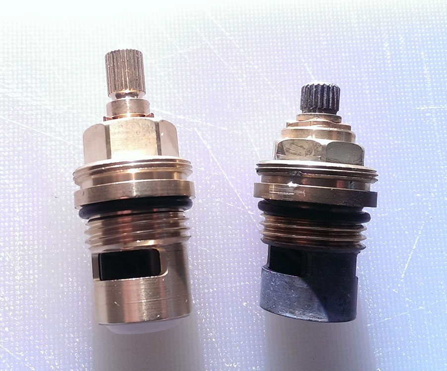Old Planar Valve on the right (not available in store). Current Planar Valve on the left (available in store).