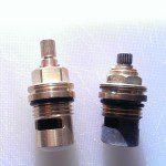 Old Franke Planar Valve (Right ) Not available in Store. Current Planar Valve (Left) is available in Store.