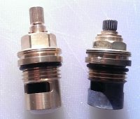 Old Franke Planar Valve (Right ) Order 3549R in Store. Current Planar Valve (Left) is available