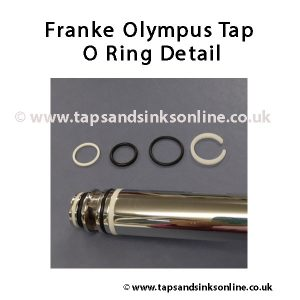 Franke Olympus Tap O Ring Kit Detail