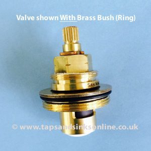 1212R Valve with Brass Bush still attached