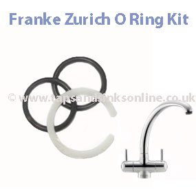 Franke Zurich Tap O Ring Kit
