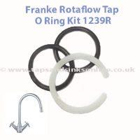 Franke Rotaflow Tap O Ring Kit 1239R