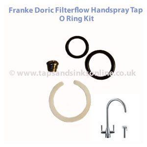 Franke Filterflow Doric Hand Spray Tap O Ring Kit