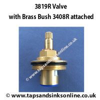3819R Valve and 3408R Brass Bush attached.