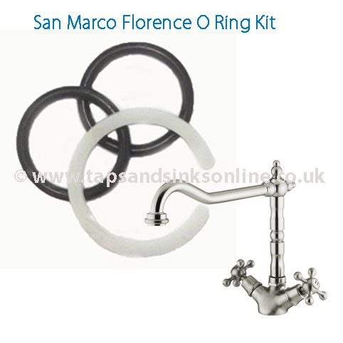 San Marco Florence Tap O Ring Kit 3646R| Uk Taps Spare Parts ...