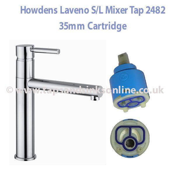 Howdens Laveno Tap 35mm Cartridge