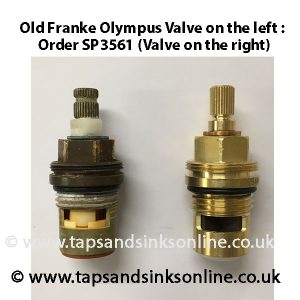 old franke valve v SP3561