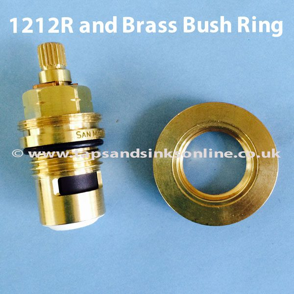 1212R Valve and Brass Bush Separate