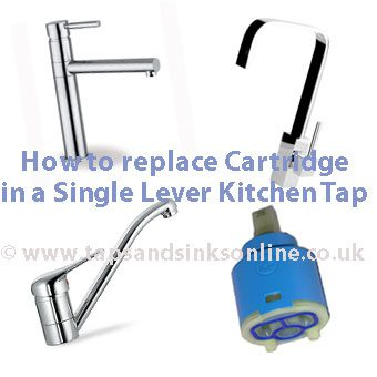 How to change your Cartridge in a Single Lever Kitchen Tap