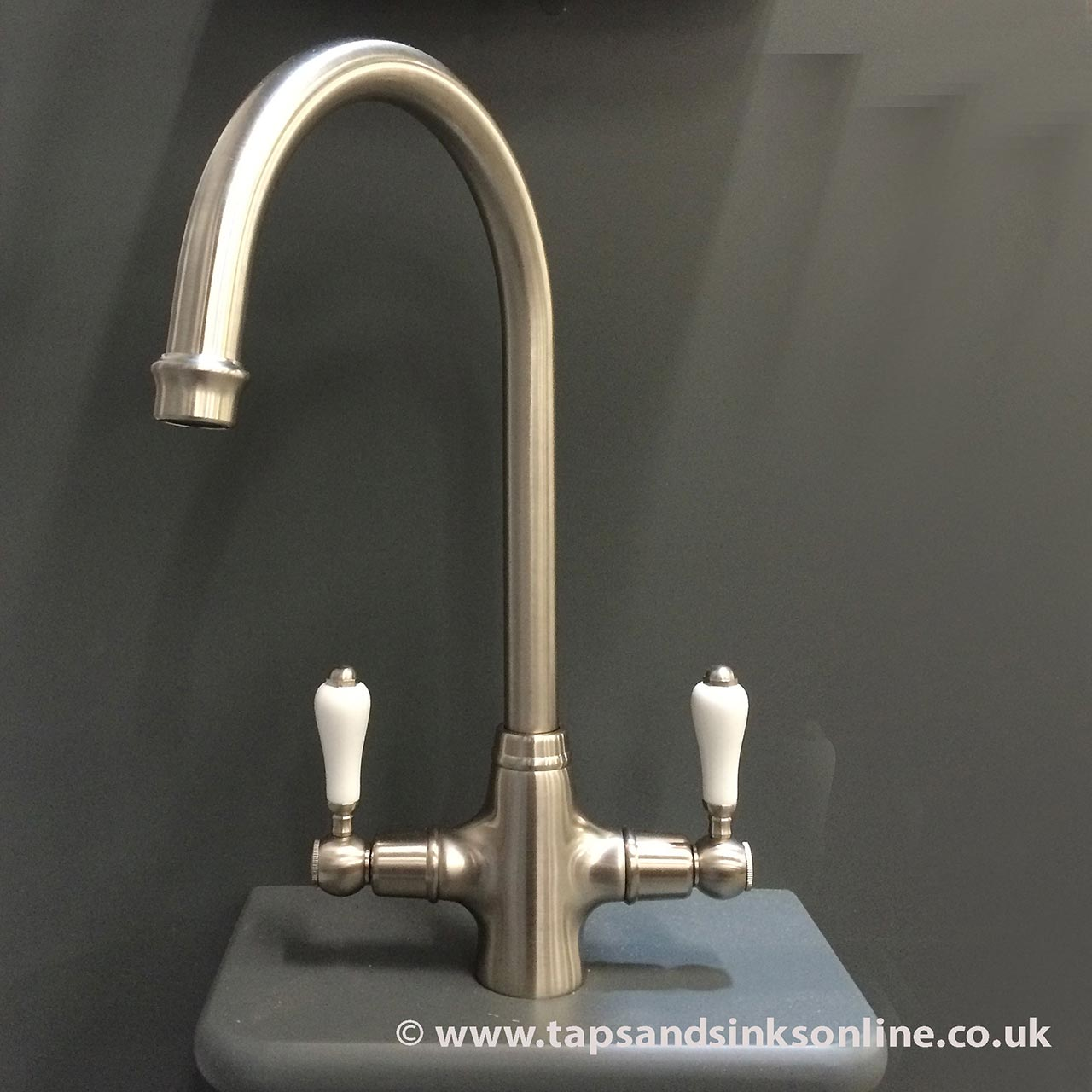 San Marco Boston Kitchen Taps Brushed Nickel From Only 163