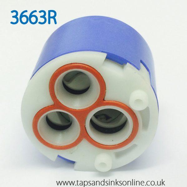 3663R Cartridge View Underneath