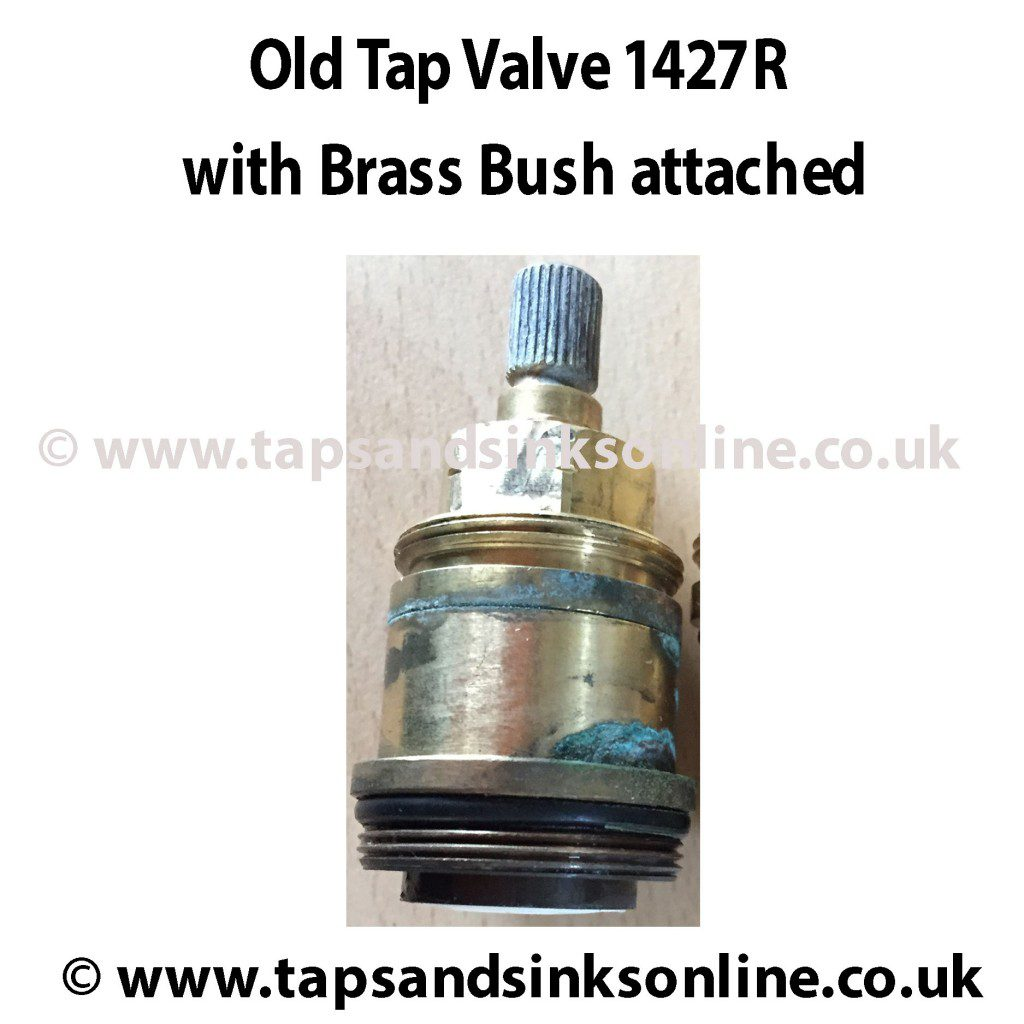 Old Valve 1427R inside Brass Bush 3886