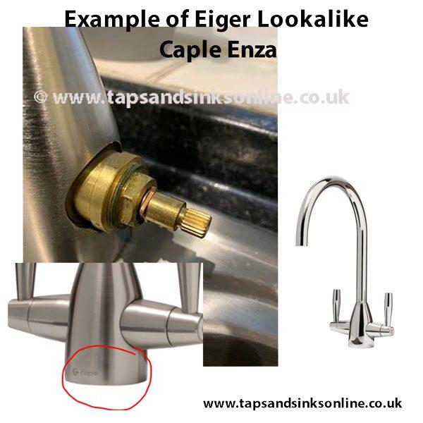 Caple Enza Eiger Lookalike 20 spline valve