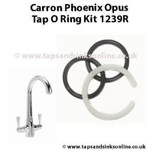 Carron Phoenix Opus Tap O Ring Kit