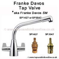 DAVOS Tap Valve SP1427 or SP3547