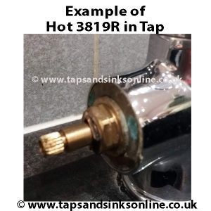 Example of Hot 3819R in a Tap