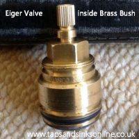 Franke Eiger Tap Valve inside Brass Bush