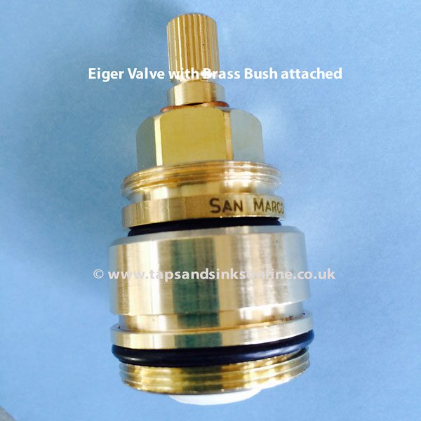 Franke Eiger Tap Valve with Brass Bush attached