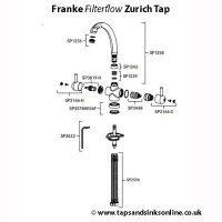 zurich filterflow tap parts