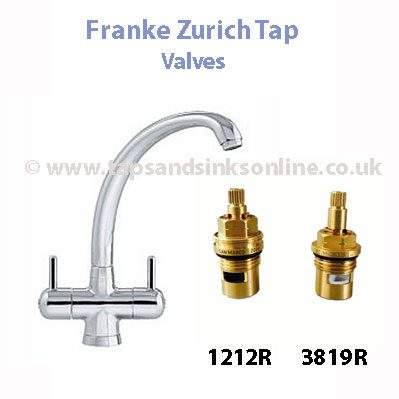 Franke Zurich Tap Valve | Kitchen Taps UK | Genuine Spare Parts Taps ...