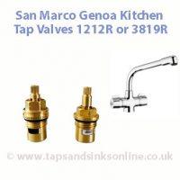 San Marco Genoa Kitchen Tap Valve