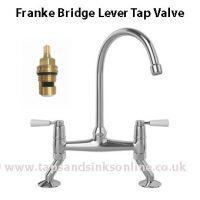 franke bridge lever tap valve