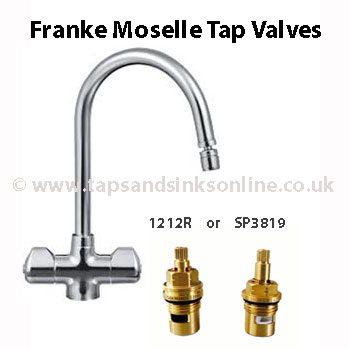 Franke Moselle Tap Valves