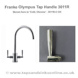 Franke Olympus Tap Handle 3011R (shown here in Chrome)