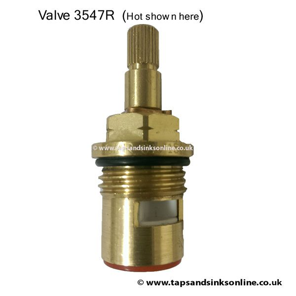 SP3547R (shown here Hot Valve)