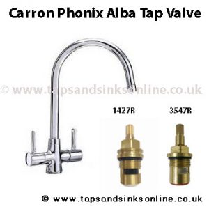 Carron Phoenix Alba Kitchen Tap Valve Taps And Sinks Online