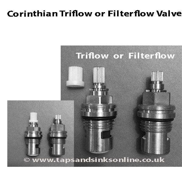 Corinthian Triflow or Filterflow Valve