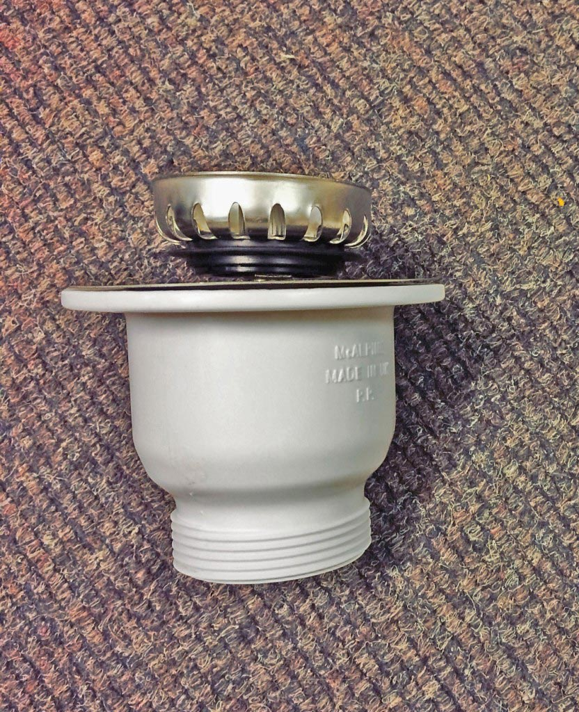 Shonelle Plug V8 for half (small) bowl, shown here with the matching cup (the cup is not included when you purchase V8)