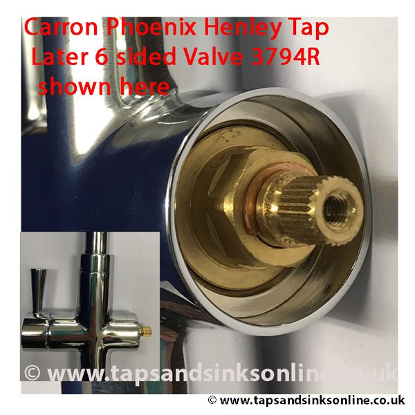 Carron Henley 3794R valve in situ