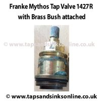 Example of Mythos Valve 1427R inside Brass Bush SP3886 (previously known as 3886R)