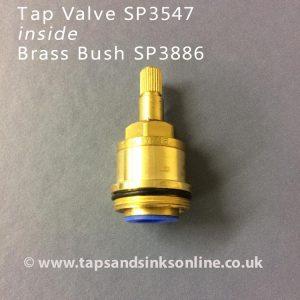 SP3547 Valve inside Brass Bush SP3886