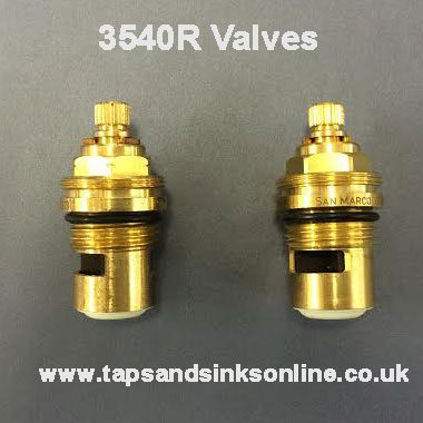 3540R Valves (Pair Shown here)
